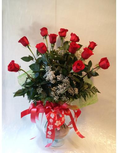 Ramo de Rosas de tallo largo
